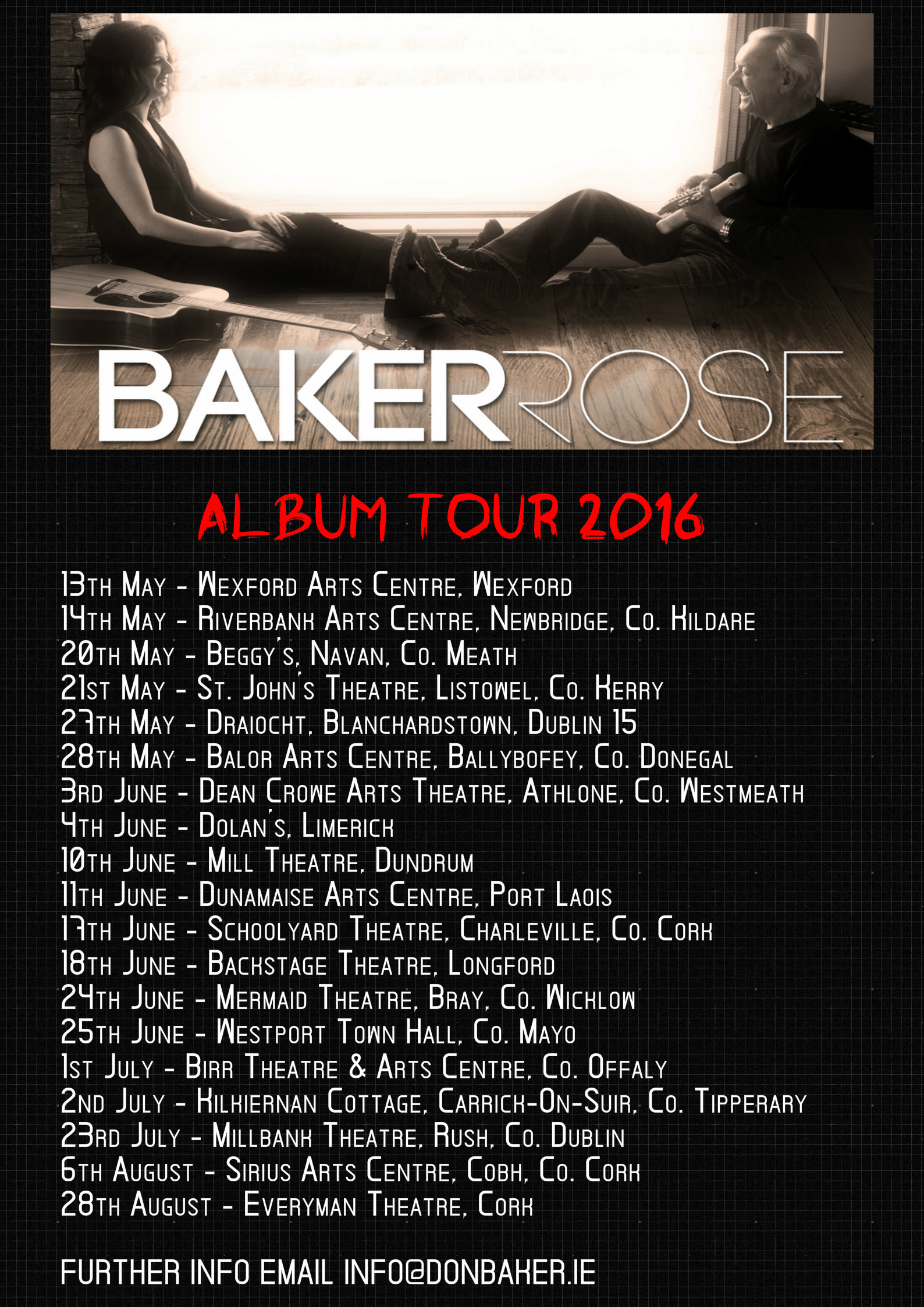 BR TOUR APRIL 2016