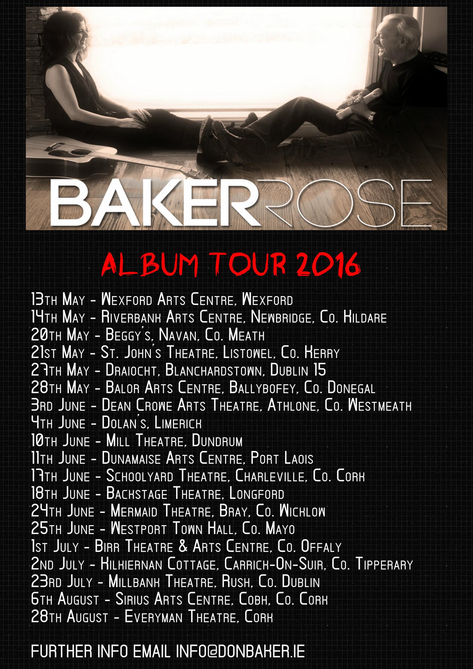 BR TOUR APRIL 2016